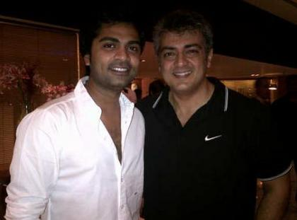Simbu meets Ajith in Mumbai