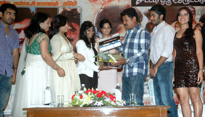 Director Shankar launches 'Sattam Oru Iruttarai' Teaser