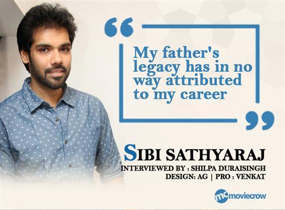 Actor Sibi Sathyaraj Interview - Interview image