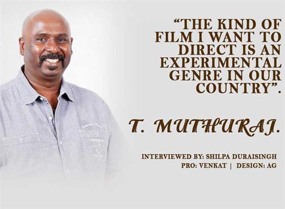 Art Director Muthuraj interview - Interview image