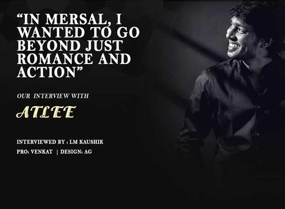 Atlee Interview - Interview image