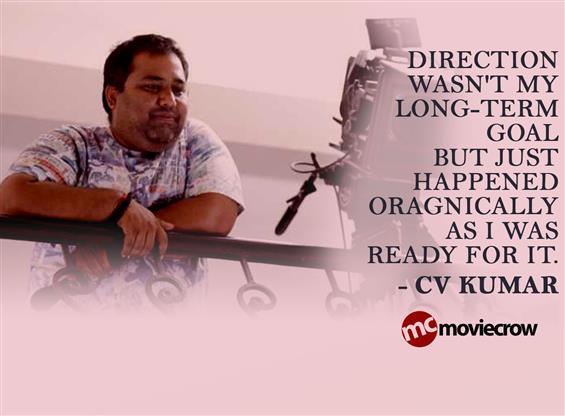 CV Kumar Interview - Interview image