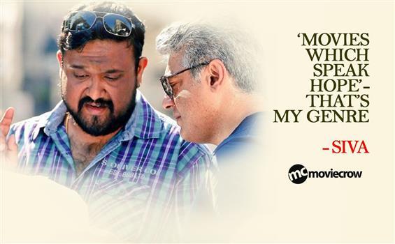 Director Siva Interview - Interview image