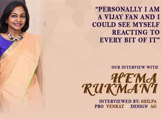Hema Rukmani Interview - Interview image