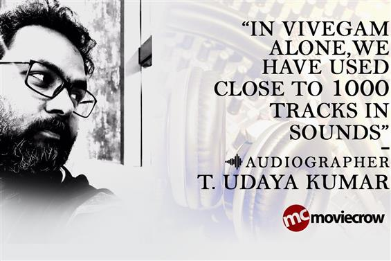 Sound Engineer T. Udayakumar Interview - Interview image