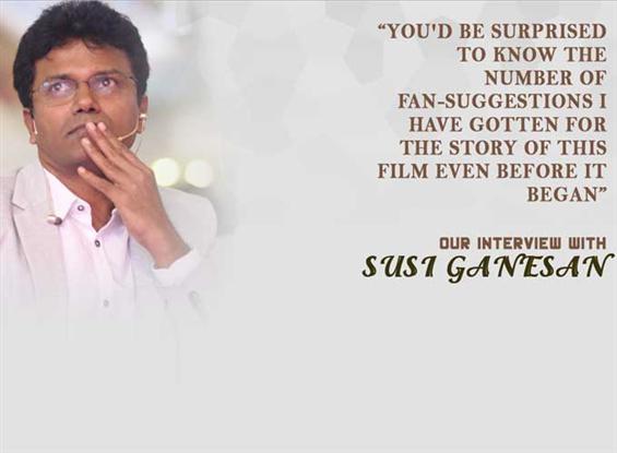 Susi Ganesan Interview - Interview image