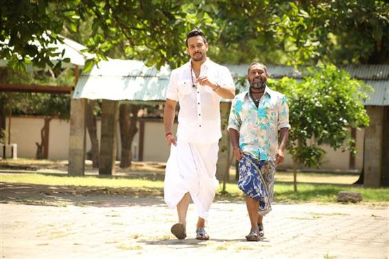 2 minute scene released from Bharath starrer Kadugu - Movie Poster