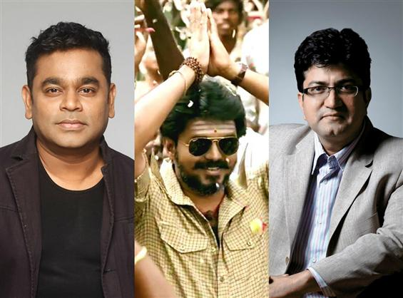 A R Rahman thanks Prasoon Joshi for Vijay's Mersal image