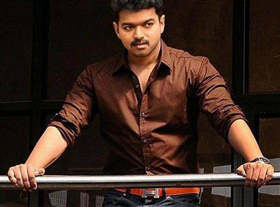 A 'Theri' title for Vijay 59 - Tamil Movie Poster