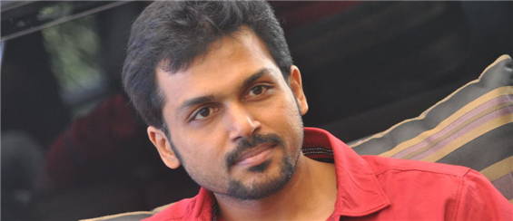 Actor Karthi Hospitalized - Tamil Movie Poster