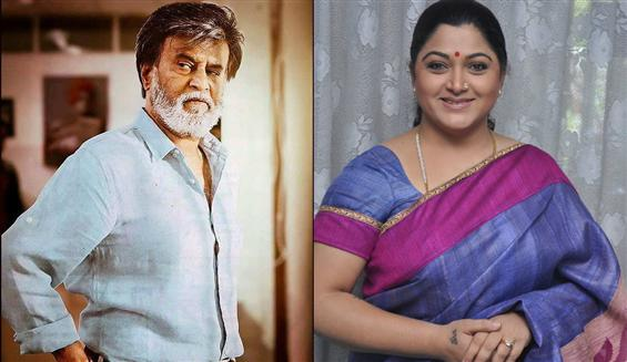 Actress Khushboo to play a role in Rajinikanth's latest film - Movie Poster