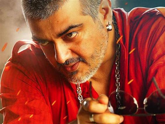Ajith's Vedalam Teaser - Tamil Movie Poster