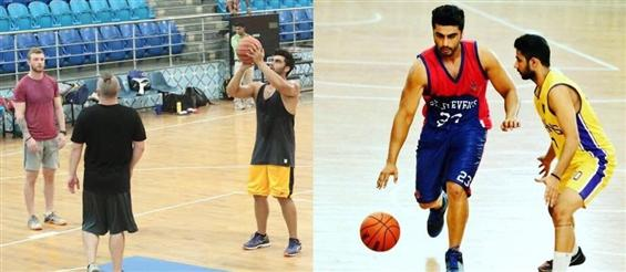 Arjun Kapoor to play basketball player in 'Half Girlfriend' - Movie Poster