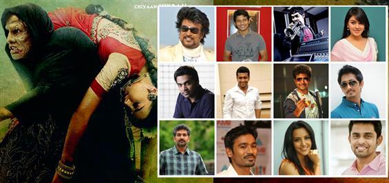 Celebs heap praise on Shankar's 'I' teaser - Tamil Movie Poster