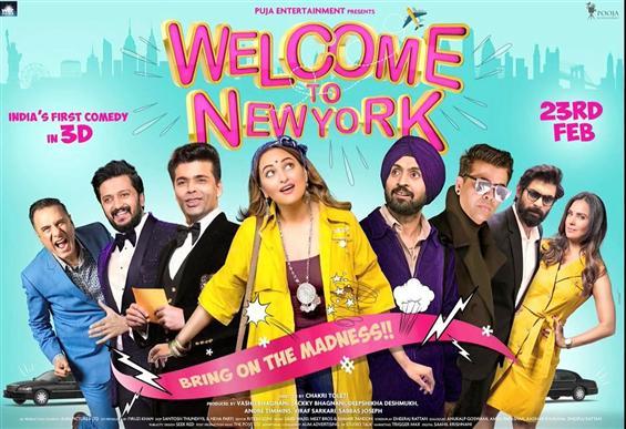 Chakri Toleti's Welcome To New York Trailer
