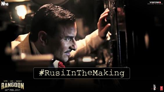 Check out making of the character 'Rusi' from Rangoon - Movie Poster