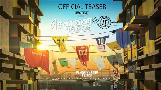 Chennai 600028 - 2 Teaser - Tamil Movie Poster