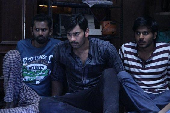Demonte Colony Review  - Scarcely scary but well made - Tamil Movie Poster