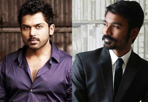 Dhanush's Kodi and Karthi's Kashmora to clash on Diwali - Tamil Movie Poster
