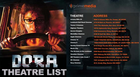 Dora - USA Theatre List