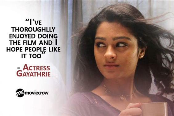 Exclusive - Actress Gayathrie on what makes her up...