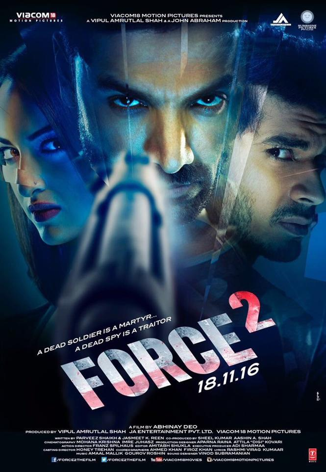 force 2 new poster hindi movie music reviews and news