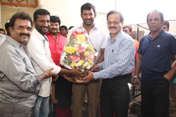 Gallery: Vishal - Suseendhiran movie launch stills - Tamil Movie Poster
