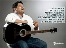 Ghibran to get the much-needed commercial recognit...