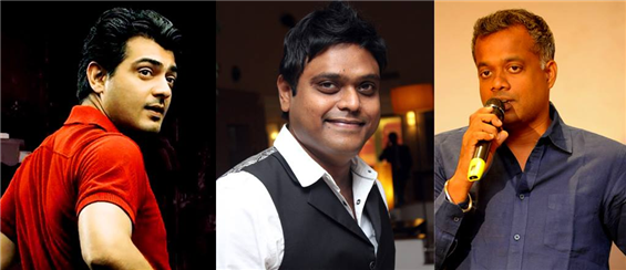 Harris Jayaraj confirmed for 'Ajith 55' - Tamil Movie Poster