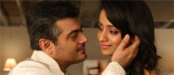 Harris records a romantic track for Ajith and Trisha - Tamil Movie Poster