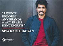 I won't endorse any brands & act in ads henceforth...