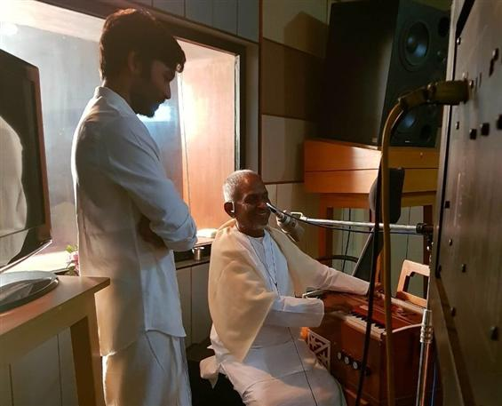 Ilayaraja sings for Dhanush in Maari 2