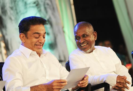 Ilayaraja to score music for Kamal Haasan's next  - Tamil Movie Poster