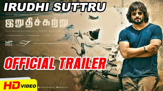 Irudhi Suttru Teaser  - Tamil Movie Poster