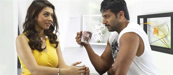 Jayam Ravi's Romeo Juliet team shoots in Mumbai - Tamil Movie Poster