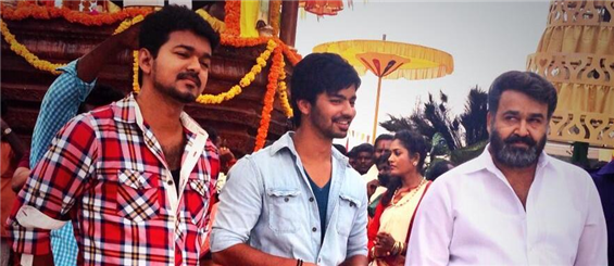 Jilla shooting wrapped up! - Tamil Movie Poster