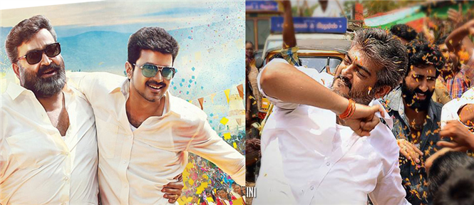 Jilla vs Veeram Songs : Side-by-side comparison