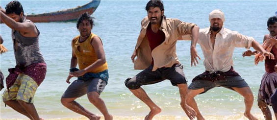 Kadal Raasa Naan song teaser from Maryan - Tamil Movie Poster