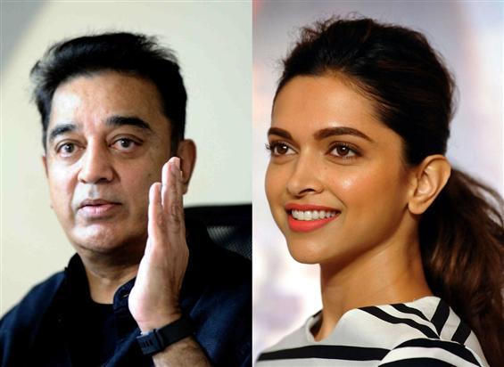 Kamal Haasan comes in support of Deepika Padukone image