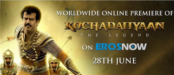 Kochadaiiyaan Ready to Rule the Web