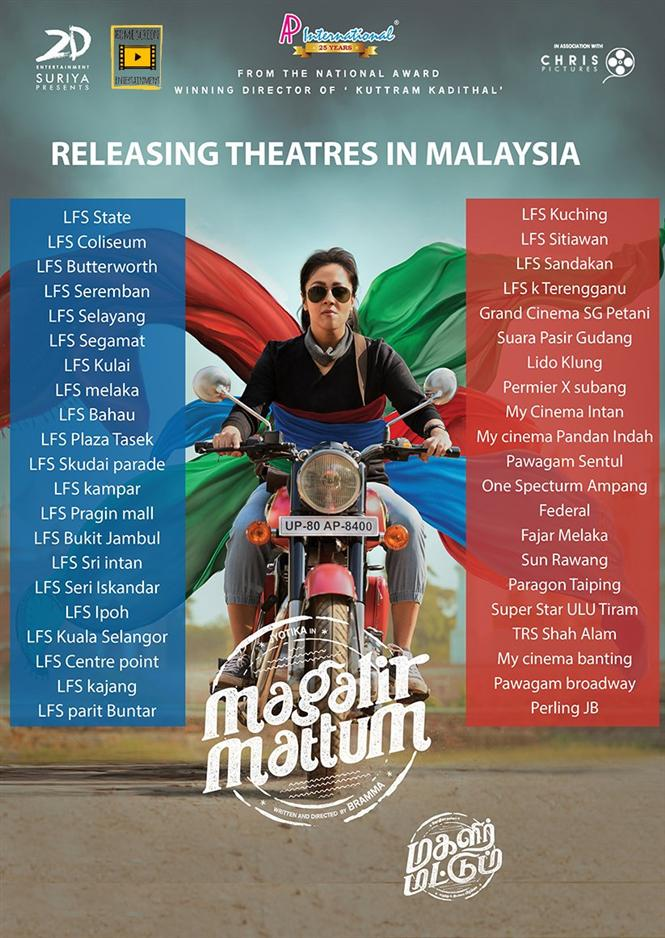 Magalir Mattum Malaysia Theatre List