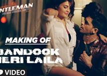 Making of 'Bandook Meri Laila' video song from AGe...