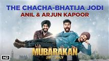 Making of 'Chacha-Bhatija Jodi' from Mubarakan