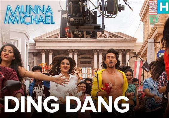Making of 'Ding Dang' song from Munna Michael - Movie Poster