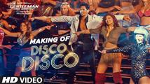 Making of 'Disco Disco' song from AGentleman