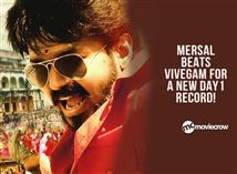 Mersal beats Vivegam for a new Day 1 record!