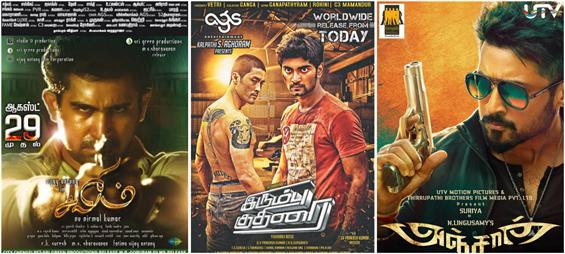 MovieCrow Box Office Report - August 29 to 31 - Tamil Movie Poster
