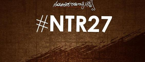 NTR 27 begin shooting in February - Movie Poster