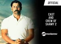 Official - Here's the cast and crew of Saamy 2