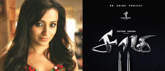 Official - Trisha to play female lead in Saamy 2  - Movie Poster